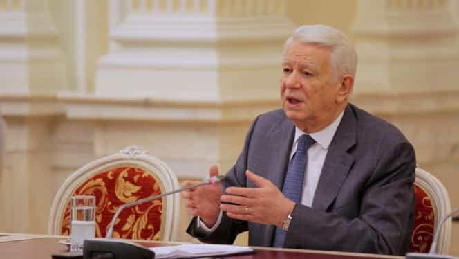 Ce venituri are Teodor Meleşcanu. Încasează lunar o mulţime de bani din pensie şi salariul de ministru