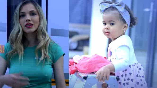 Cât a crescut și ce frumușică s-a făcut Namiko, fetița Andreei Ibacka și a lui Cabral! Cele mai noi imagini cu micuța – Video