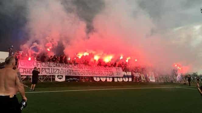 Peluza Sud 97 şi FCU au sărbătorit promovarea în Liga 3. Video