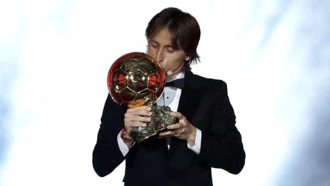 Câți bani a primit Luka Modric pentru că a câștigat Balonul de Aur în 2018!