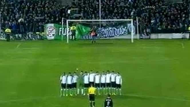 VIDEO / CAZ ŞOCANT în istoria fotbalului european. Jucătorii lui Santander au REFUZAT să joace