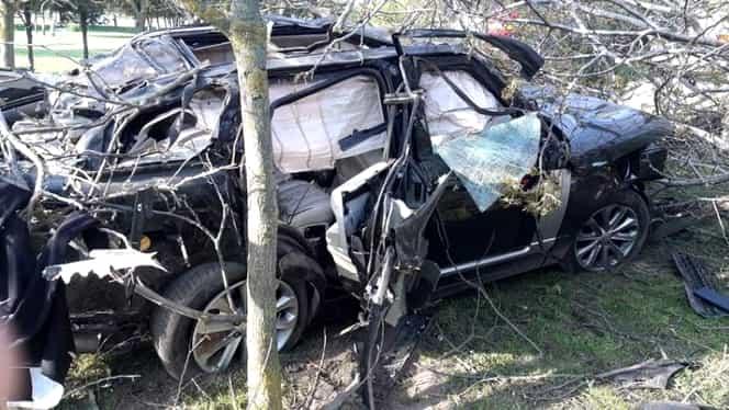 Reconstituirea accidentului lui Răzvan Ciobanu. Detaliul surprins în imaginile filmate cu drona