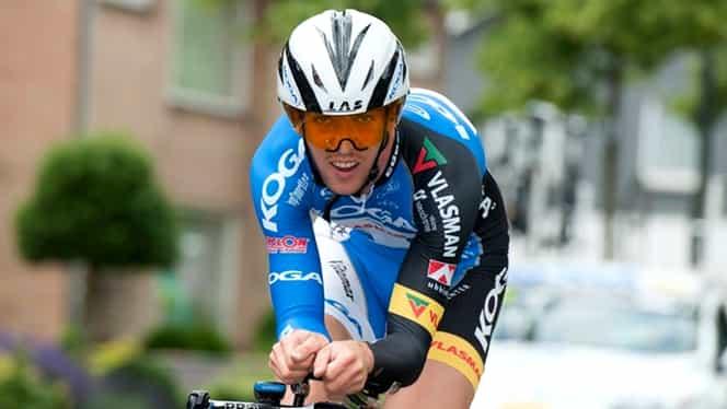 Un ciclist se află în comă după ce a suferit un infarct în timpul cursei