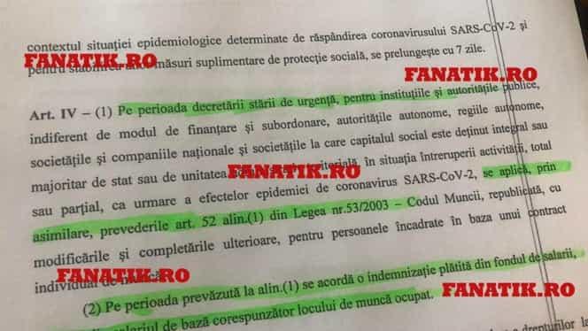 Document exclusiv. Bugetarii intră în şomaj tehnic! Câţi bani pierd la salariu 1,4 milioane de români, conform OUG propusă de Ministerul Muncii