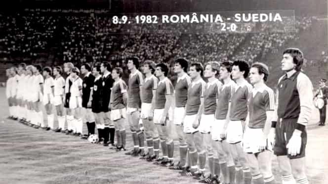 """Suedia, înfrângere în singurul meci oficial jucat în România! """"Tricolorii"""" dădeau lovitura și se calificau la Euro '84. VIDEO"""