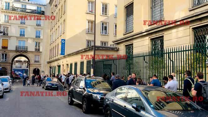 Cozi interminabile la ambasada din Paris! Şi Simona Halep e aşteptată să voteze. FOTO şi VIDEO