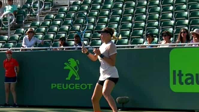 Video. Emoţii pentru adolescenta minune de la Indian Wells. A plâns pe teren după o accidentare