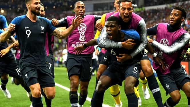 Câţi bani încasează Franţa, câştigătoarea CM 2018! Francezii au dat lovitura!