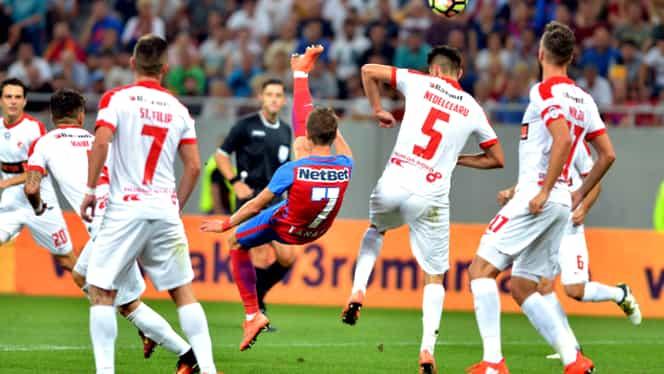 """DINAMO. Dădeau de pămînt cu Steaua? """"Încă două goluri!"""""""