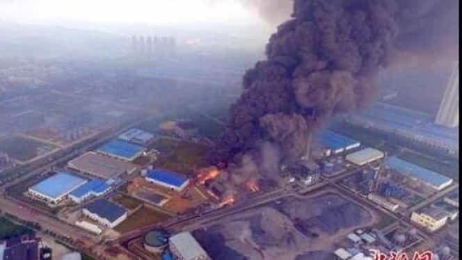 Explozie la o centrală electrică din China. Cel puţin 21 de oameni au murit