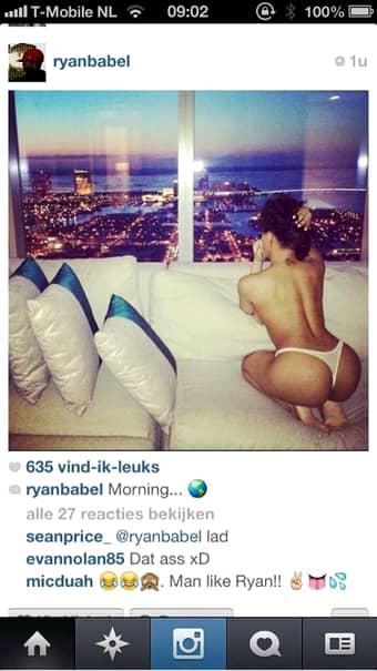 Vrei şi tu o dimineaţă ca a lui Ryan Babel?