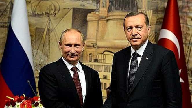 Anunţul care cutremură UE. Turcia şi Rusia, acord privind TurkStream şi o centrală nucleară