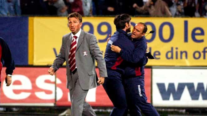 Dan Petrescu și Victor Pițurcă, la a doua întâlnire directă! Prima a rămas în istorie: şase goluri, Petrescu a fost înjurat în Ghencea + Gigi Becali l-a făcut praf pe Alexandru Tudor