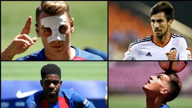 """Primul """"11"""" al celor mai TARI transferuri din Spania. Barcelona dă 3 jucători!"""