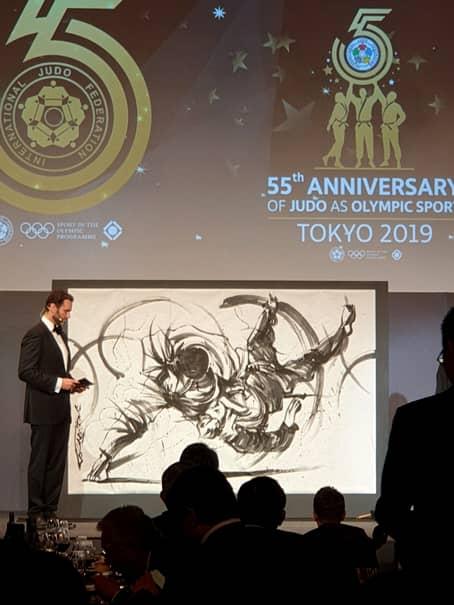 La CM de la Tokyo s-a sărbătorit și împlinirea a 55 de ani de când judo-ul este sport olimpic, federația internațională fiind mai bătrână cu 10 ani