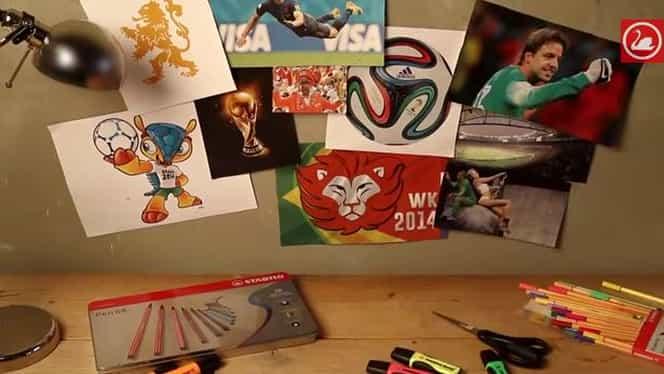 VIDEO / Un ARTIST a recreat într-un mod INEDIT cele mai frumoase goluri de la Cupa Mondială!