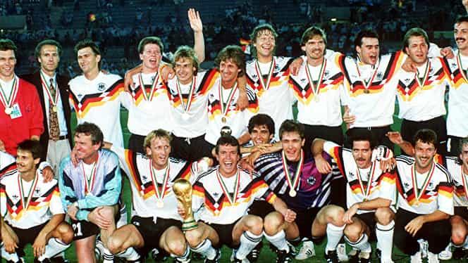 1990. Copa del Mondo. Când germanii au refuzat… berea şi au cerut vin!