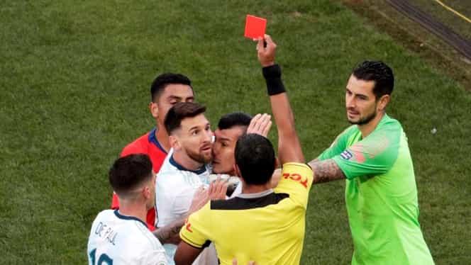 Lionel Messi şi-a aflat pedeapsa pentru cartonaşul roşu primit în Argentina – Chile 2-1! Ce decizie au luat sud-americanii
