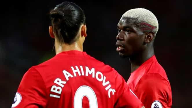 """Cum l-a ameninţat Ibrahimovic pe Raiola: """"Îţi rup picioarele dacă îl transferi pe Pogba în altă parte"""""""