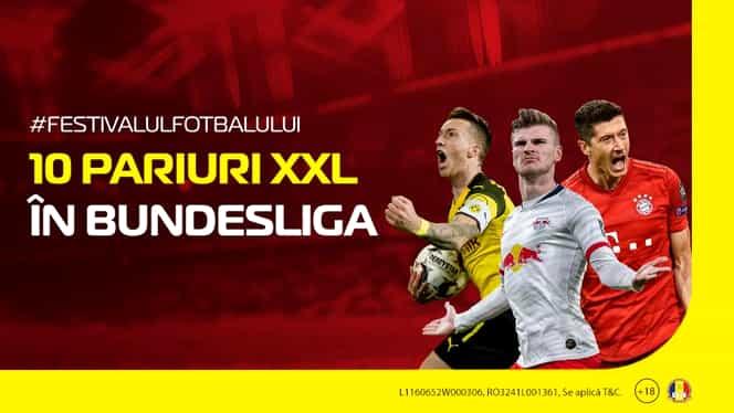 (P) Cote XXL în Germania: 10 pariuri pe care trebuie să stai cu ochii în weekend, în etapa a 27-a