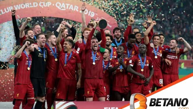 (P) Cadoul Betano la final de 2019: pariurile pe Liverpool campioană în Premier League au fost plătite!