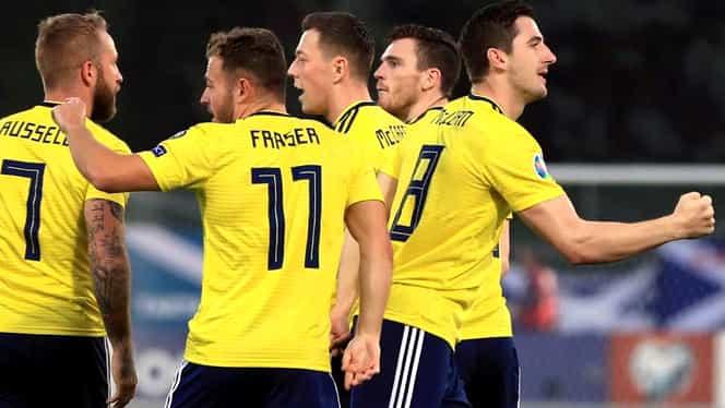 Scoţia – San Marino 6-0 în preliminarii EURO 2020. VIDEO cu rezumatul