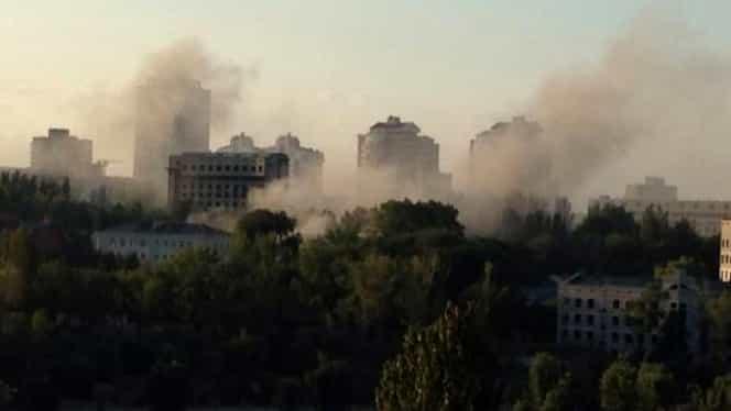 Criză în Ucraina: Şapte civili, UCIŞI în bombardamente