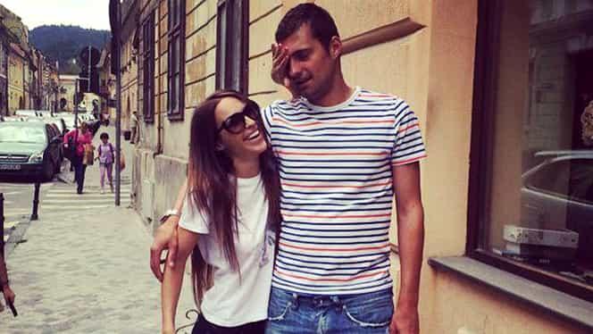 FOTO. Soţia lui Gabi Tamaş, implicată într-un accident rutier. Un alt fotbalist i-a sărit în ajutor