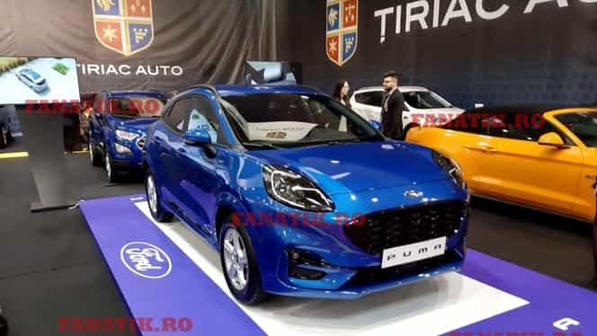 Reportaj de la Salonul Auto București 2019, unde accentul se pune pe hibrid. Vedeta show-ului, noul Ford Puma produs la Craiova. Galerie foto