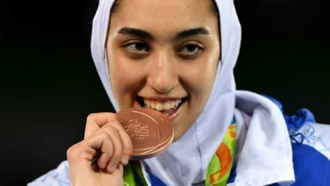 PREMIERĂ istorică! Prima femeie din Iran care cîştigă o medalie olimpică