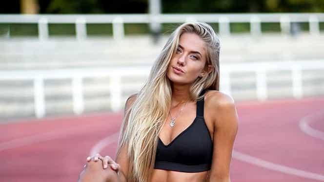 Borussia Dortmund a angajat-o pe Alica Schmidt, cea mai sexy atletă din lume! Este noul preparator fizic al echipei. Foto