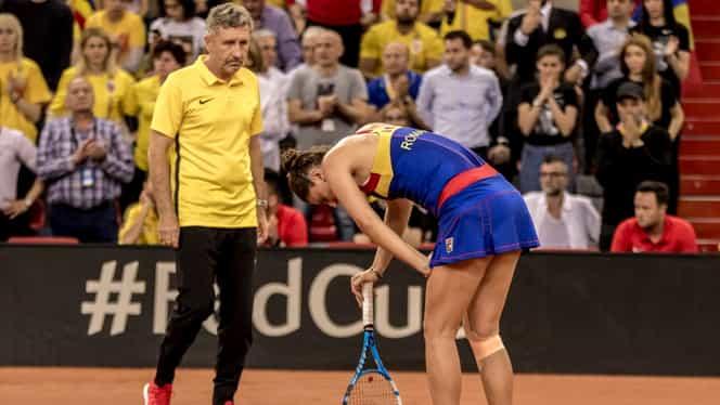 Verdict pentru Irina Begu după accidentarea de la Fed Cup! Când va reveni românca