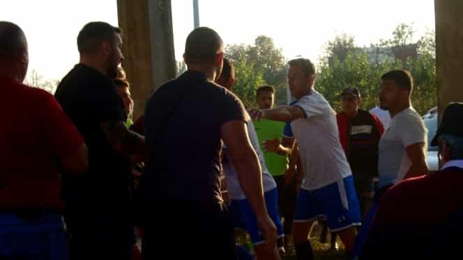 Silviu Bălace, fost fotbalist la Dinamo, suspendat un an după bătaia generală în care a fost implicat. GALERIE FOTO