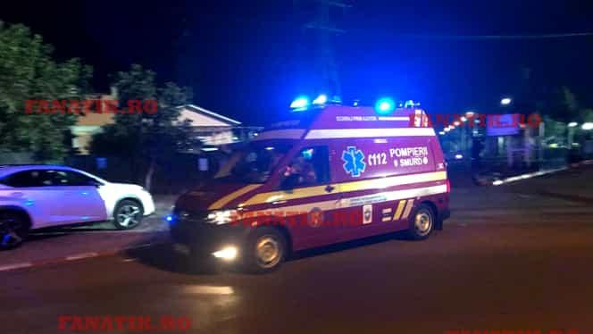 Dennis Man, dus cu ambulanța la spitalul Elias la miezul nopţii! Avea pometele umflat, buza spartă şi acuza amețeli şi dureri de cap după meci, după ce a fost lovit violent și a ales să joace și-n repriza secundă! VIDEO EXCLUSIV