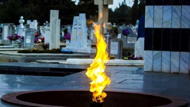 Flacăra eternă din Cimitirul Eroilor din Timişoara a fost stinsă. Explicaţia lui Nicolae Robu
