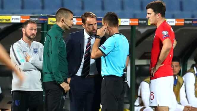 """Scandări rasiste și saluturi naziste la meciul Bulgaria – Anglia 0-6! Arbitrul a oprit partida înaintea pauzei. Englezii au răbufnit. """"Niște idioți! Rușine!"""""""