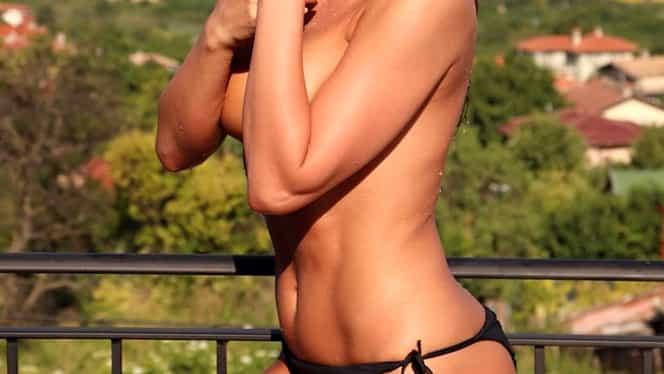 Anna Lesko, apariție care i-a lăsat pe toți cu gura căscată! A pozat topless în balcon