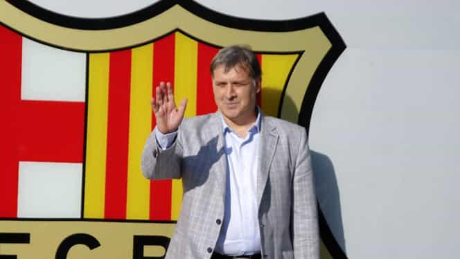 Anunţ HALUCINANT: Martino PLEACĂ de la Barcelona