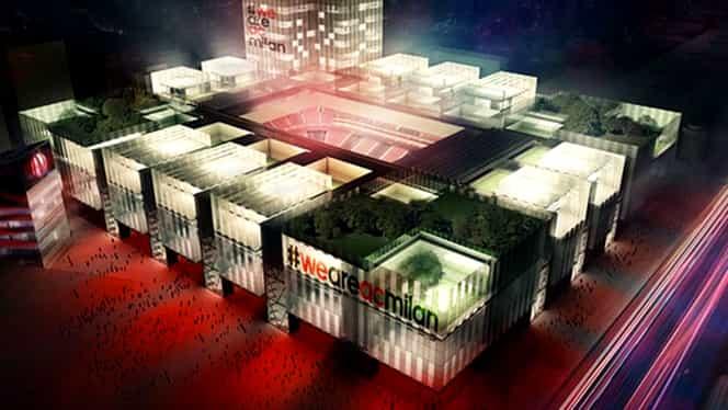 """Noul """"San Siro"""" va costa 750 de milioane de euro. Arena din Milano va avea cu 20.000 de locuri mai puțin decât în prezent. VIDEO"""