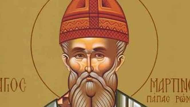 Calendar ortodox 14 aprilie. Biserica îl prăznuiește pe Sfântul Martin Mărturisitorul