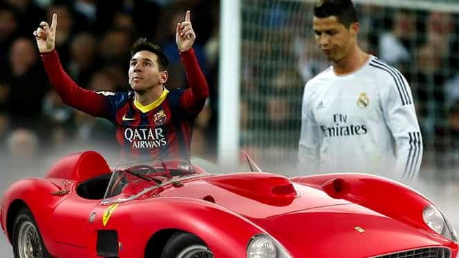 Leo Messi, numărul 1 și la cele mai scumpe mașini ale vedetelor! Vezi cum arată top 10. Galerie FOTO