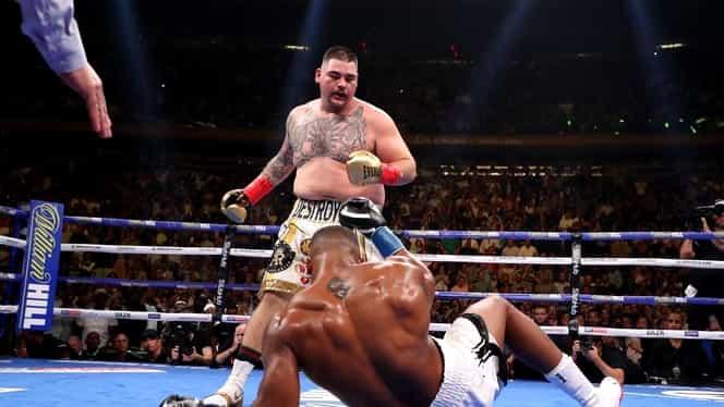 Surpriză colosală în box! Anthony Joshua, făcut KO pentru prima dată în carieră de locul 14 în lume! Video