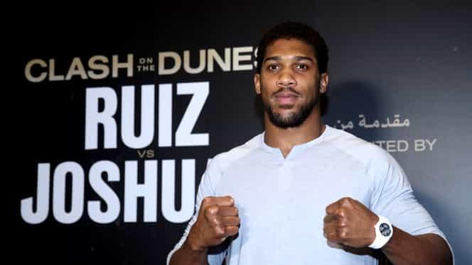 Meciul de titlu mondial la box la categoria grea, Joshua vs Ruiz: 98 de milioane de dolari în burse şi arenă de 25.000 de locuri construită special de arabi! VIDEO