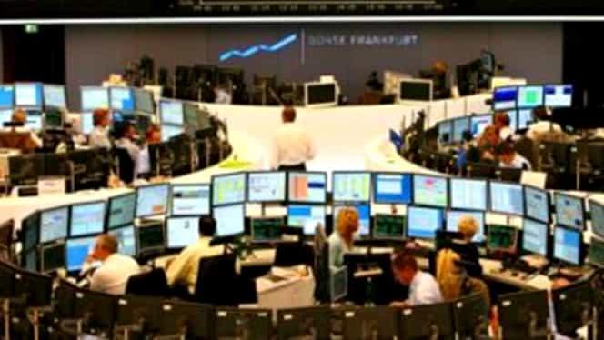 Bursa de la Bucureşti, afectată de scăderile de pe pieţele europene de capital