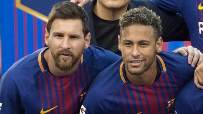 """Leo Messi îl aşteaptă pe Neymar la Bacelona: """"Ar fi frumos!"""""""