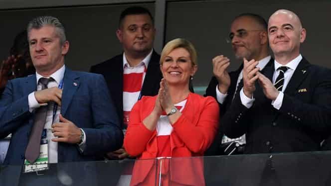 Cât de sexy e Kolinda Grabar-Kitarovic, președintele Croației