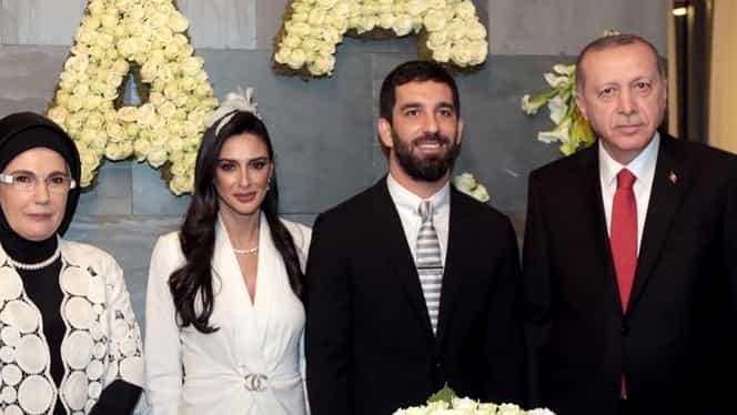 Erdogan, invitat special la nunta lui Arda Turan. Mijlocaşul şi-a anulat în 2013 căsătoria din cauza preşdintelui