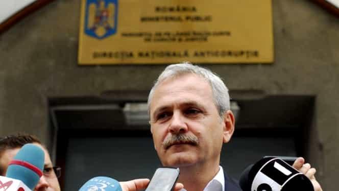 Liviu Dragnea, preşedintele PSD, la DNA