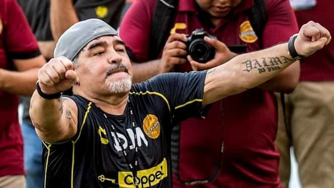 Diego Maradona are trei copii cu două femei în Cuba. În total, Il Pibe d'Oro are opt copii