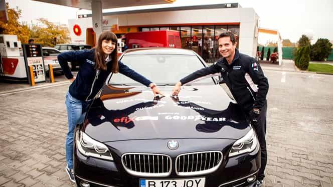 Record de consum în România pentru BMW 520d  xDrive: 1.550 km cu un plin!